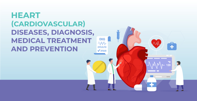 Heart (Cardiovascular) Diseases, Diagnosis, Medical Treatment, and Prevention