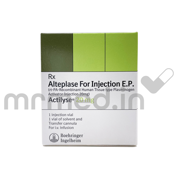 ACTILYSE 20MG INJECTION