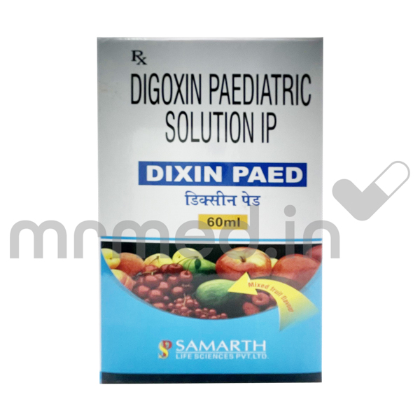 DIXIN PAED 60ML SYRUP