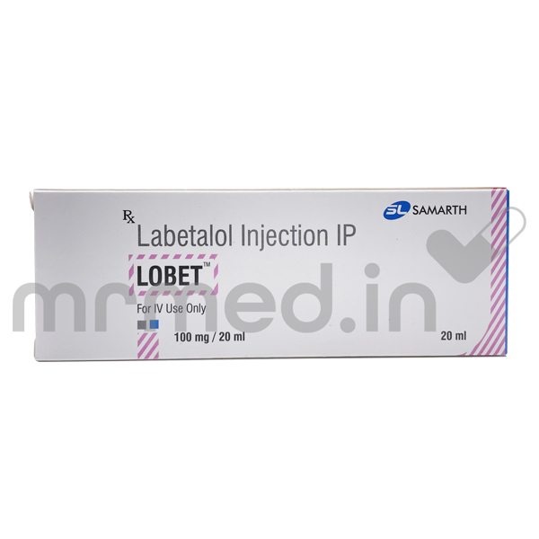 LOBET 100MG INJECTION